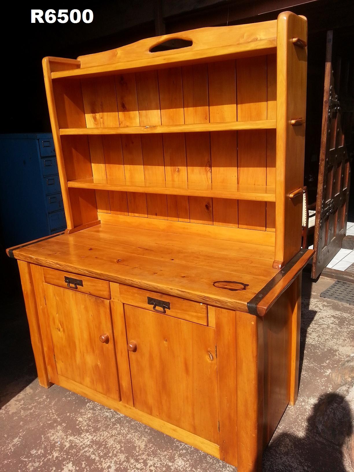 Solid Yellow Wood Dresser 1490x675x1880 Junk Mail