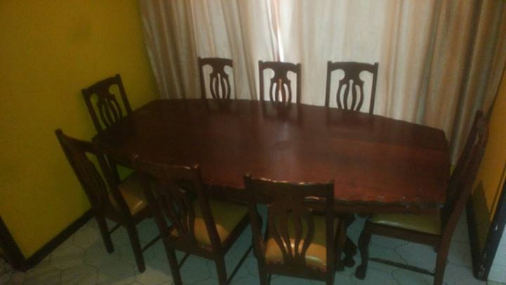 80 Year Old Imbuia Ball And Claw 8 Seater Dining Room Set