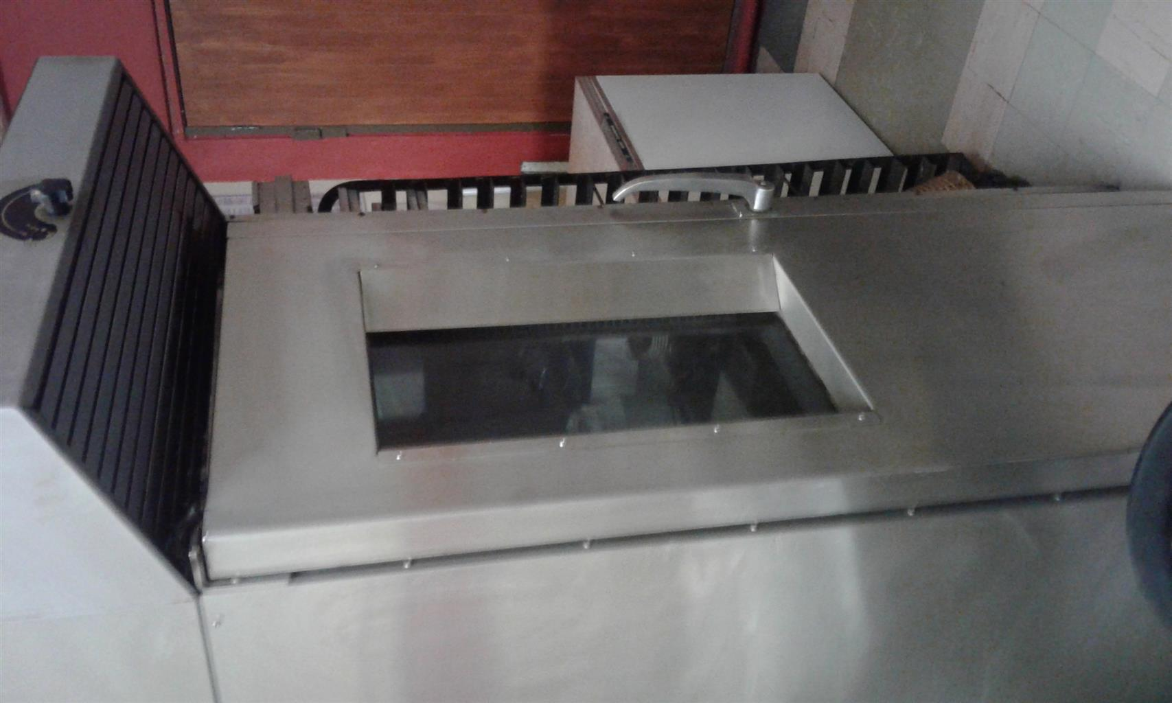 Industrial Convection oven and Biscuit cutting machine for sale
