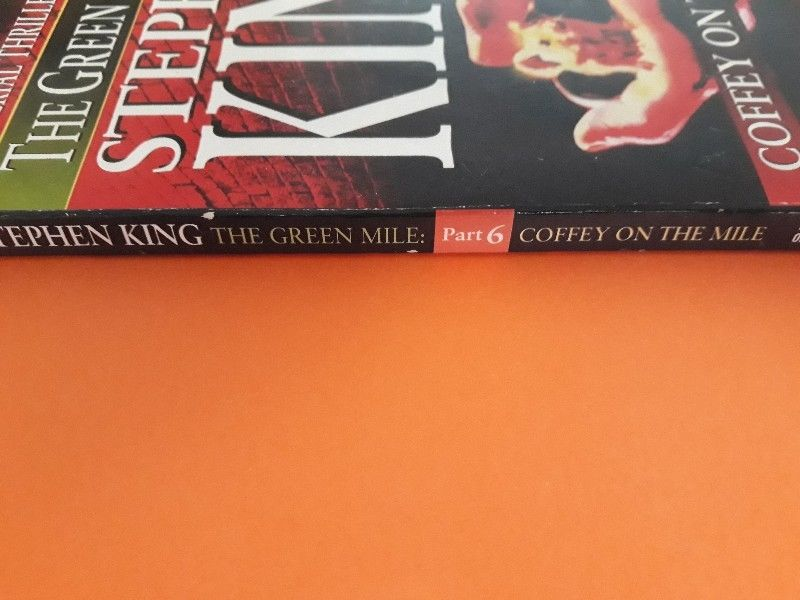 Coffey On The Mile Stephen King The Green Mile Part 6 Junk Mail
