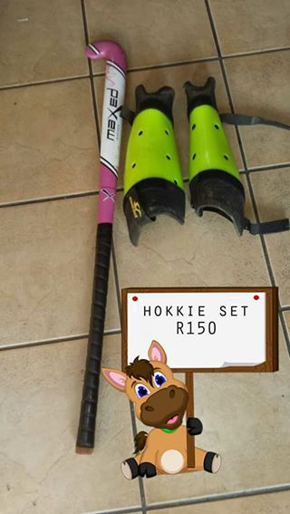 Kiddies hockey set