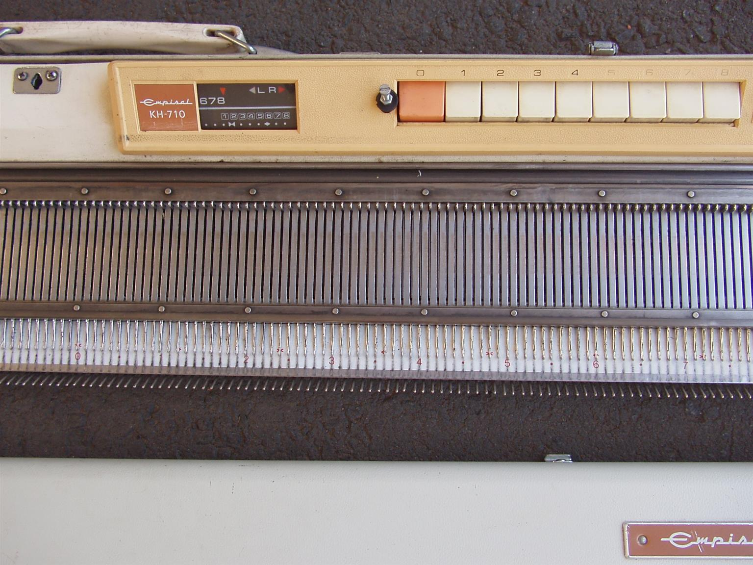 Empisal Knitting Machine KH - 710   Junk Mail
