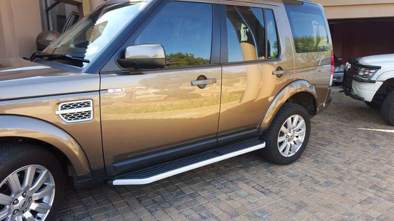 Land Rover Discovery 4 side steps