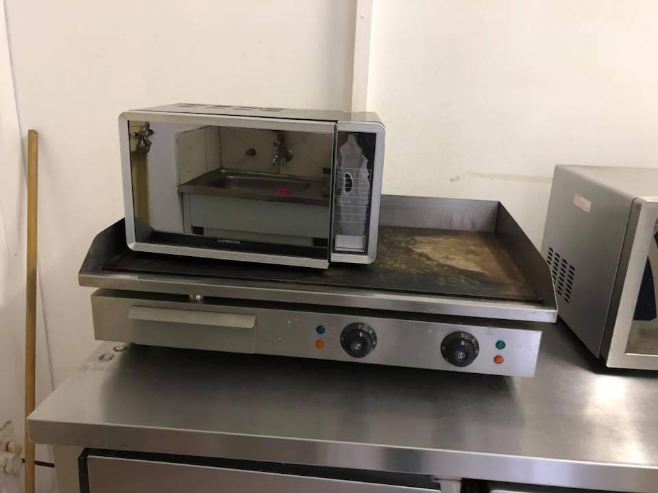open stove