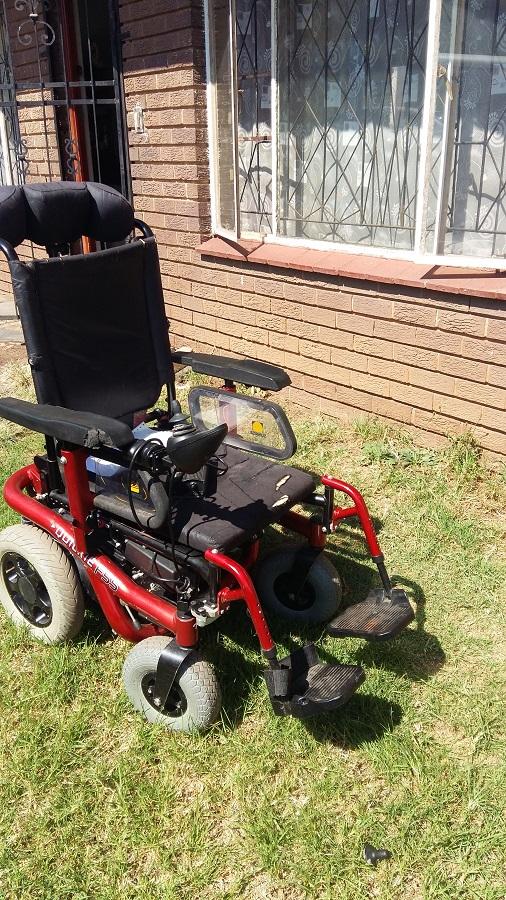 Quickie F55 Wheelchair