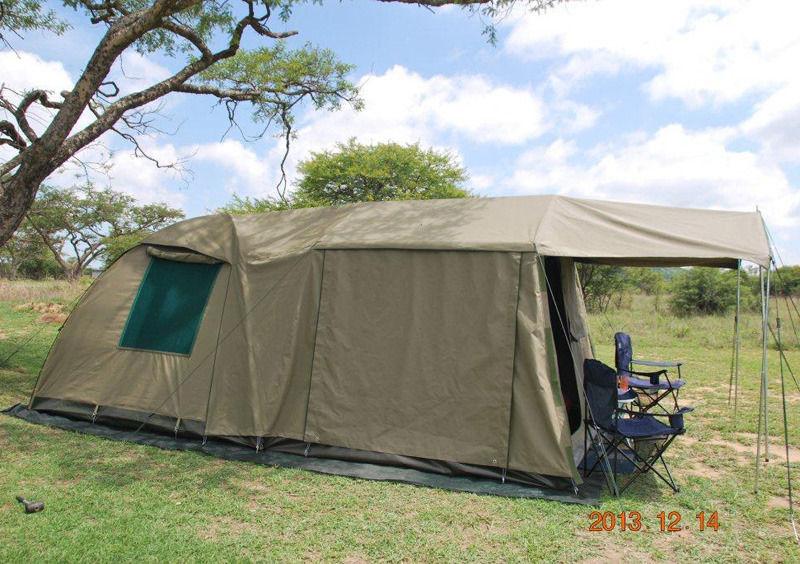 Safari Bush Dome Tent with extension & Safari Bush Dome Tent with extension | Junk Mail