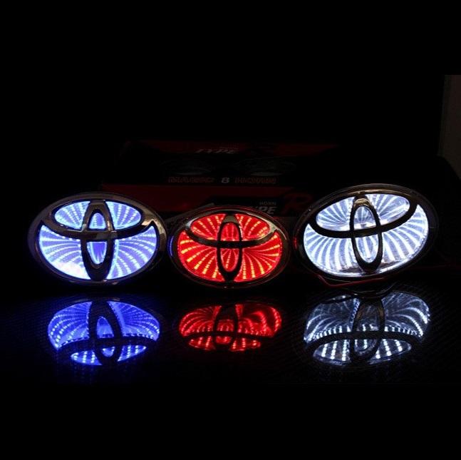 Car Light up Badges