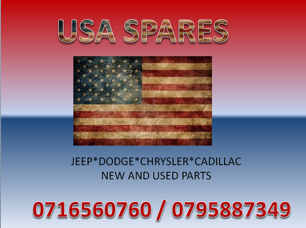 JEEP, DODGE, CHRYSLER AND CADILLAC NEW AND USED PARTS FOR SALE