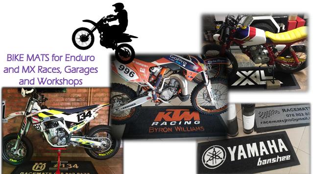 RACEMATS - Custom bike mats