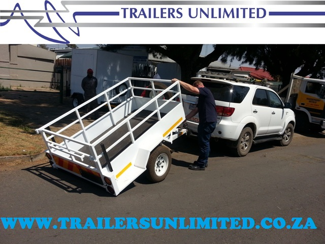 TRAILERS UNLIMITED. BRAKE NECK UTILLITY TRAILERS.