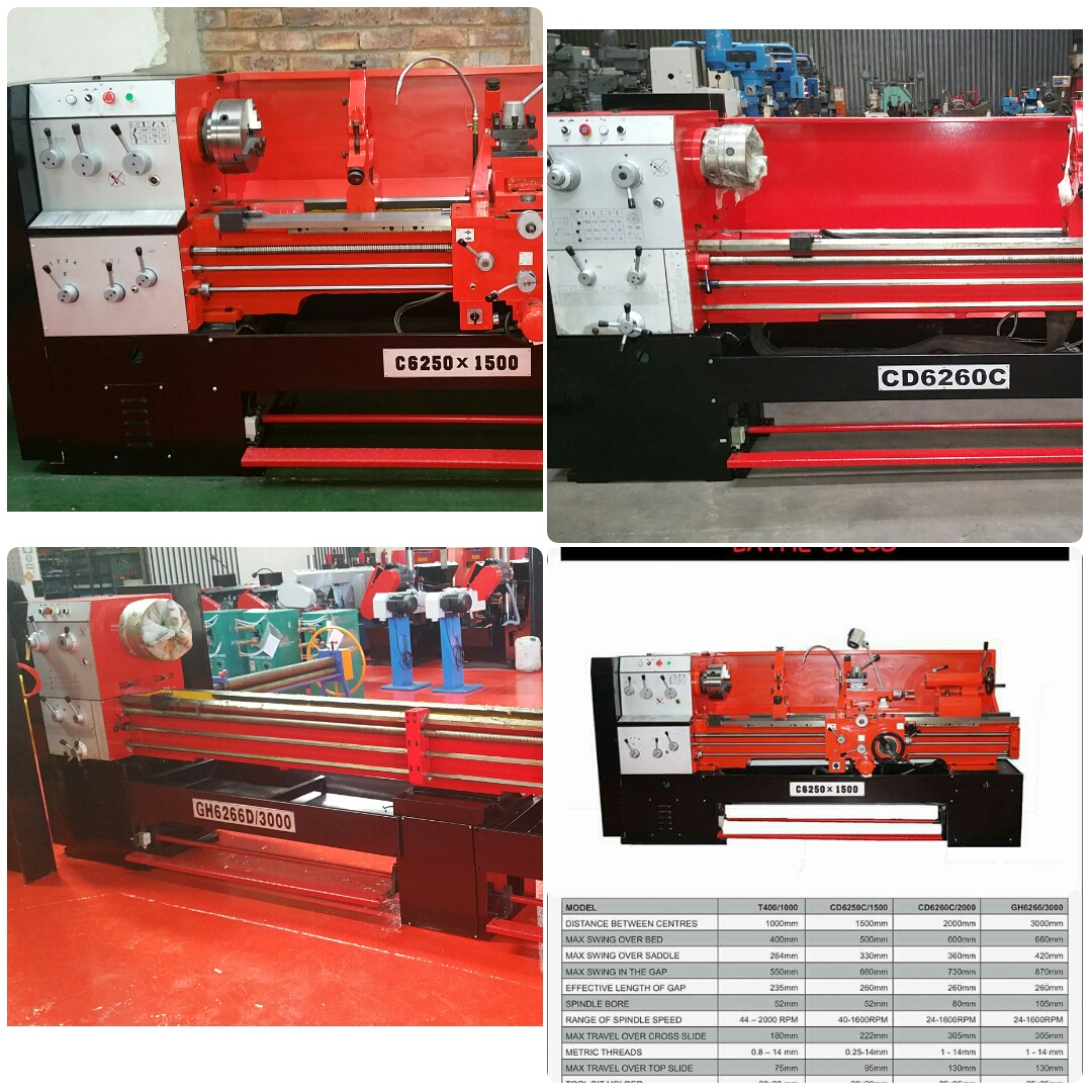 LATHE 2000MM FOR SALE NEW CONTACT BRUCE  083587319