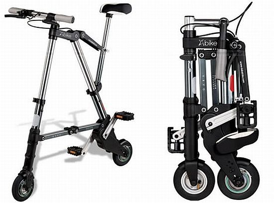 Collapsable bicycle suitable for camping/flats,etc