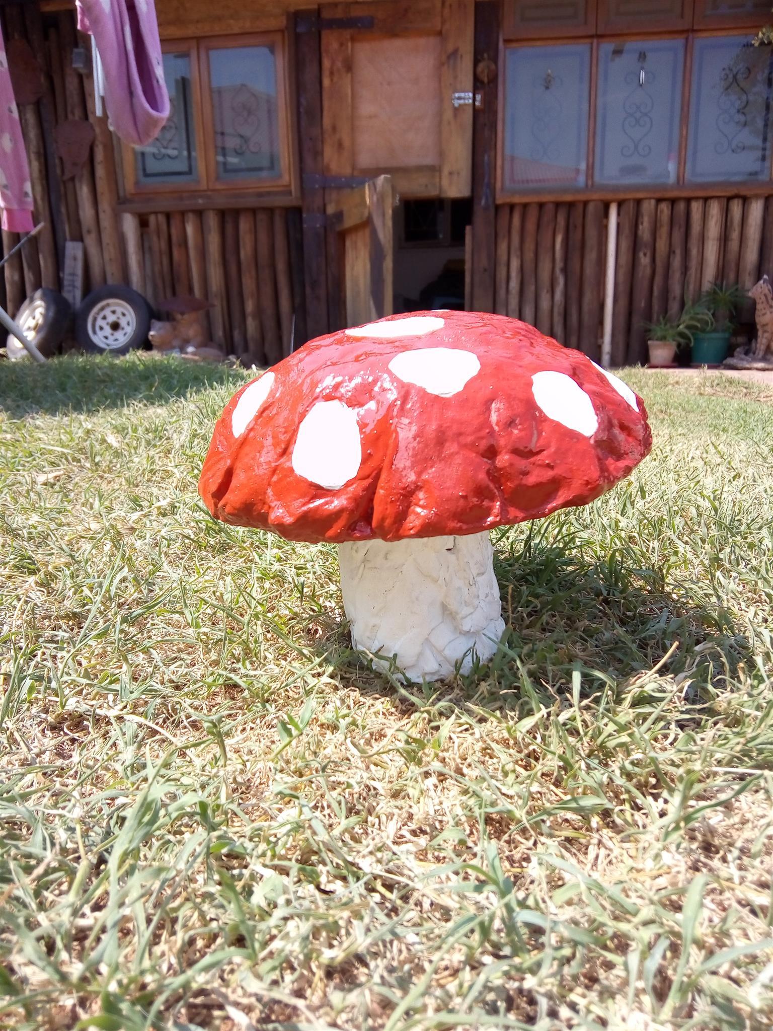 Mushroom Ornament. Outside or inside