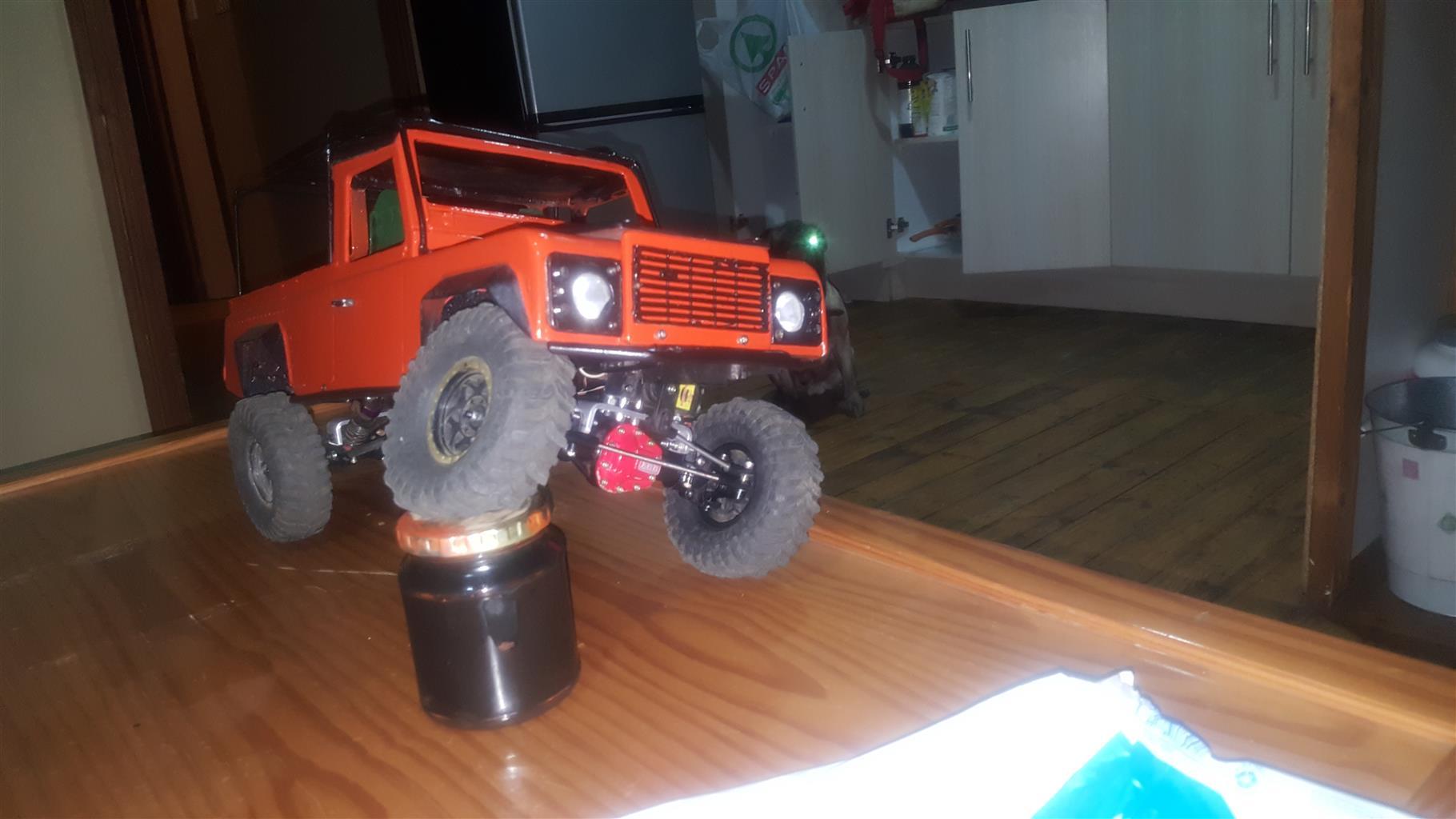 RC Crawler D110