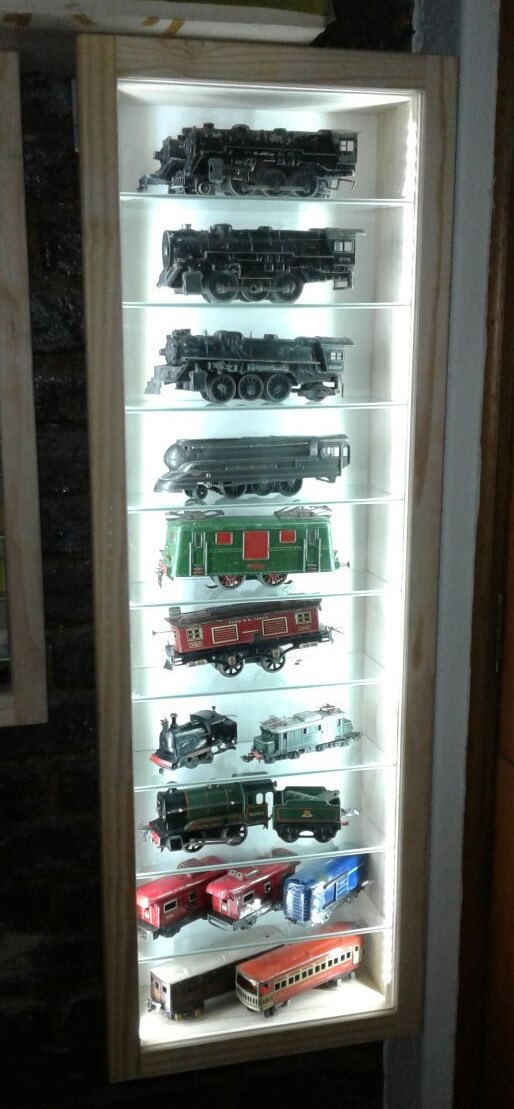 CABINETS   Model Cars Display /Show Cabinets Custom Made With LED/Lights.  Dust
