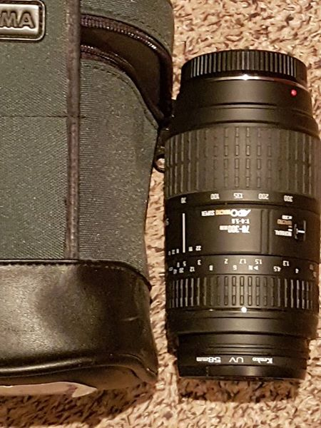 Lens for minolta camera