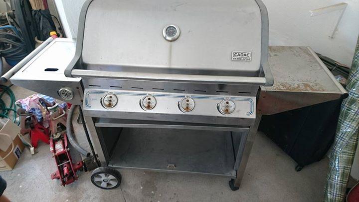 Big cadac barbecue