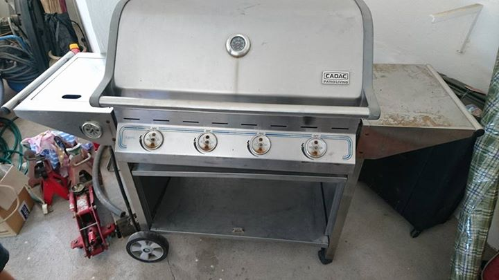 Big cadac barbecue
