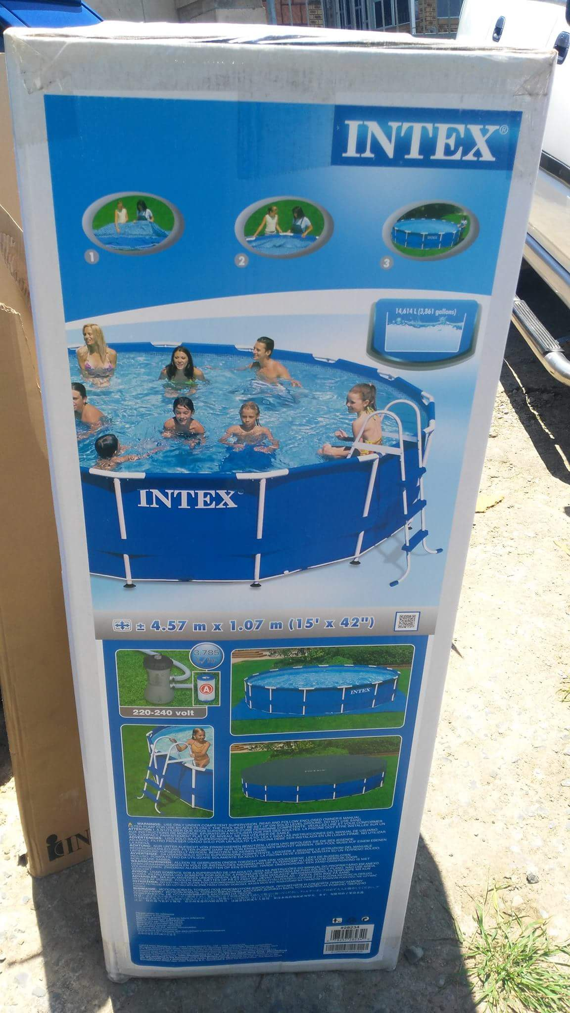 Pools and accessories in south africa junk mail - Intex swimming pool accessories south africa ...