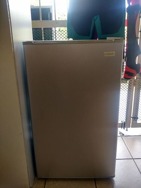Logik Silver Bar Fridge: