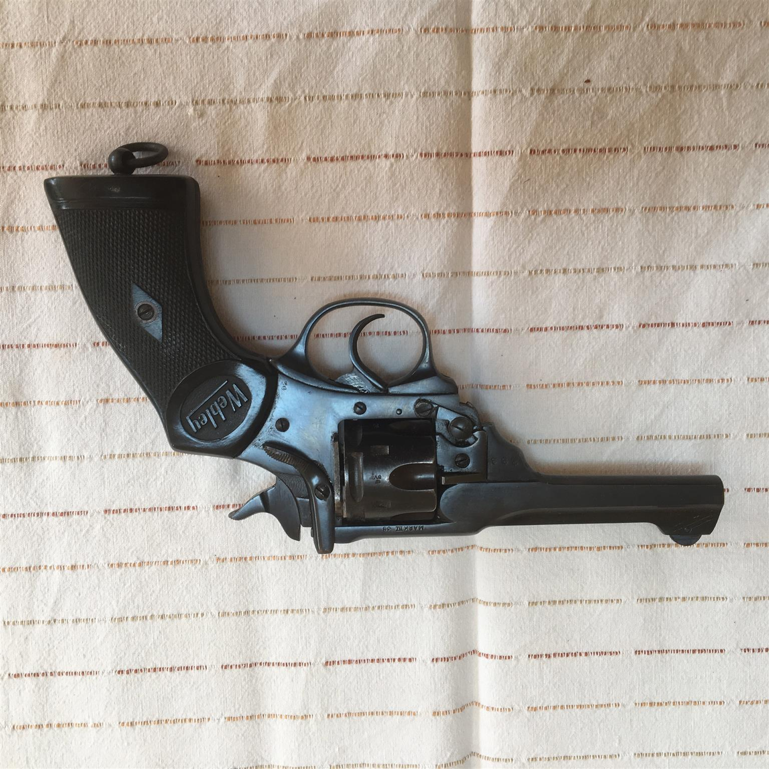 Webley  38 Mk IV Special Revolver   Junk Mail