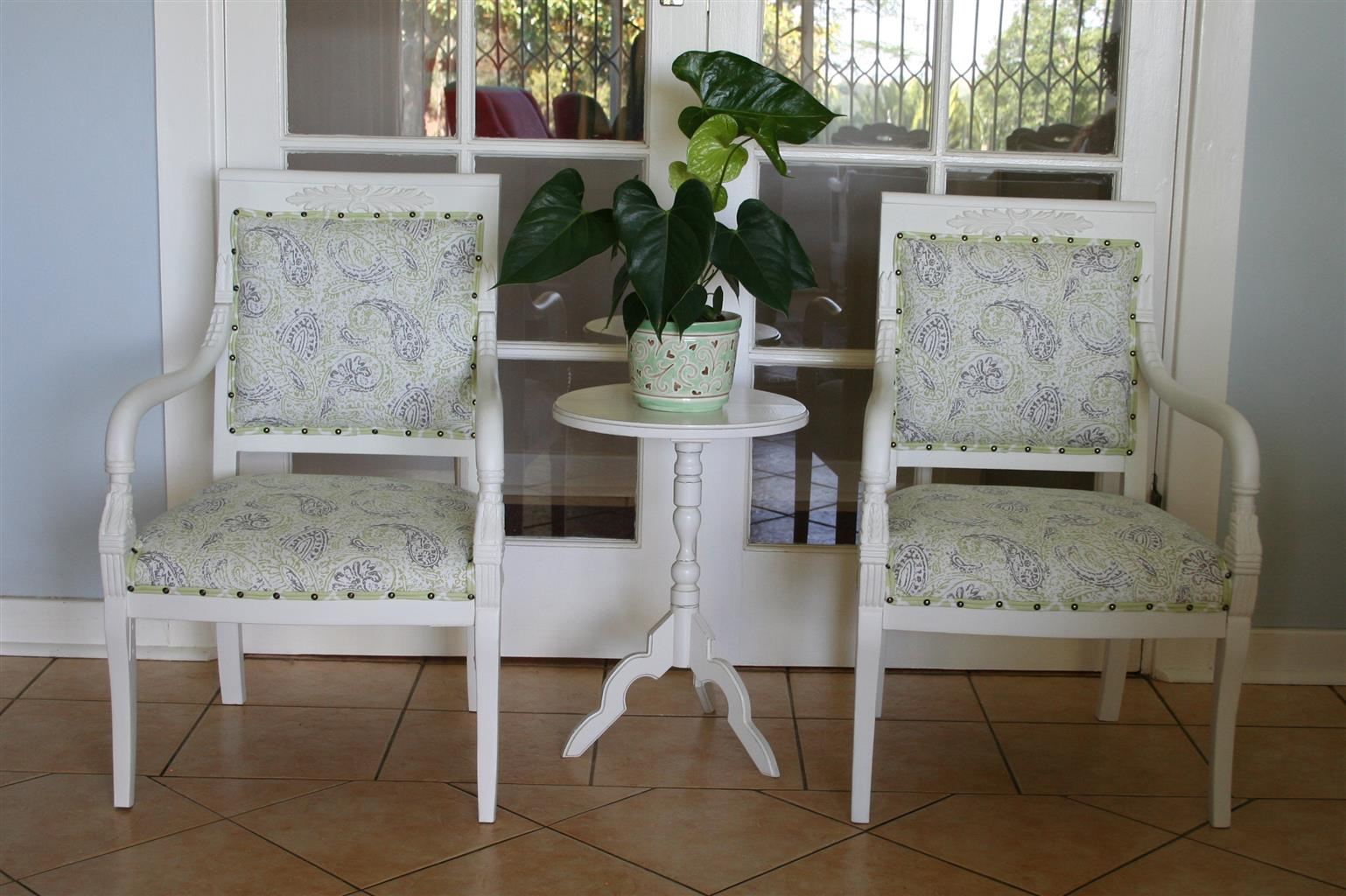Vintage Occasional Chairs @ R2750 each!