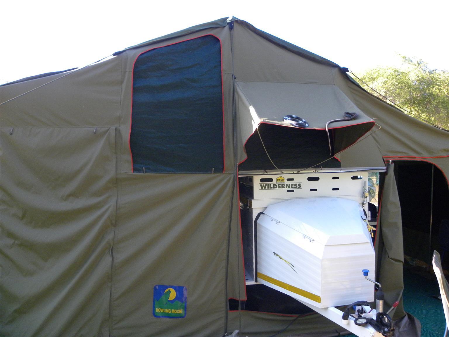 Howling moon 2010 model trailer Tent (Deluxe Trailer Tent)