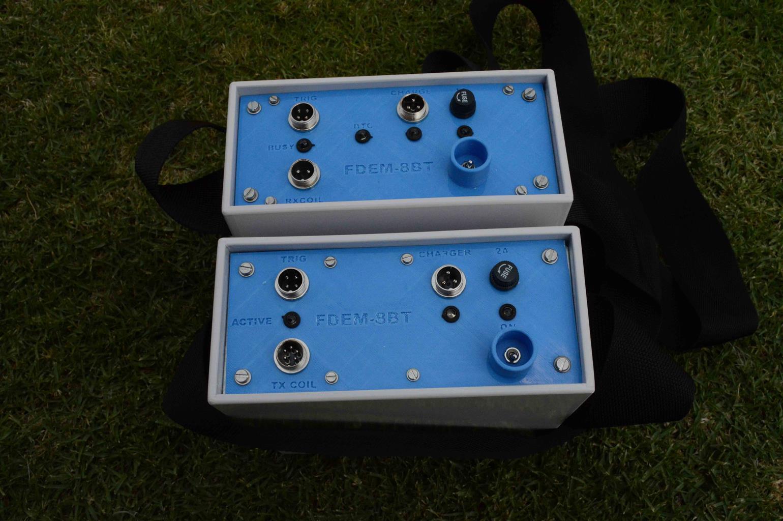 FDEM-8BT frequency domain EM instrument