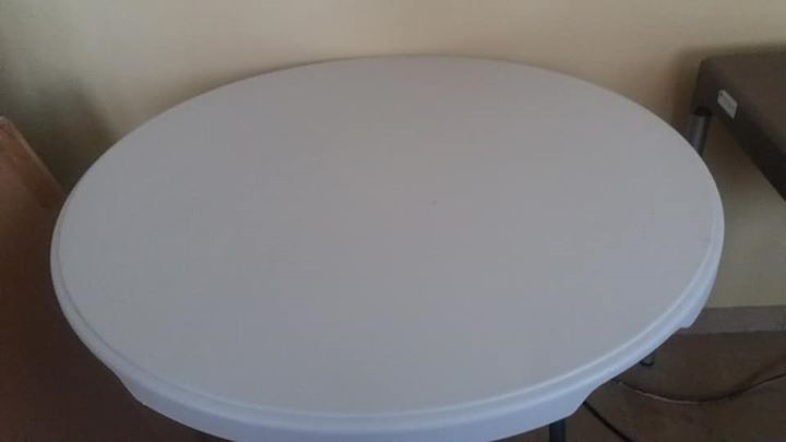 Ronde opvou tafels