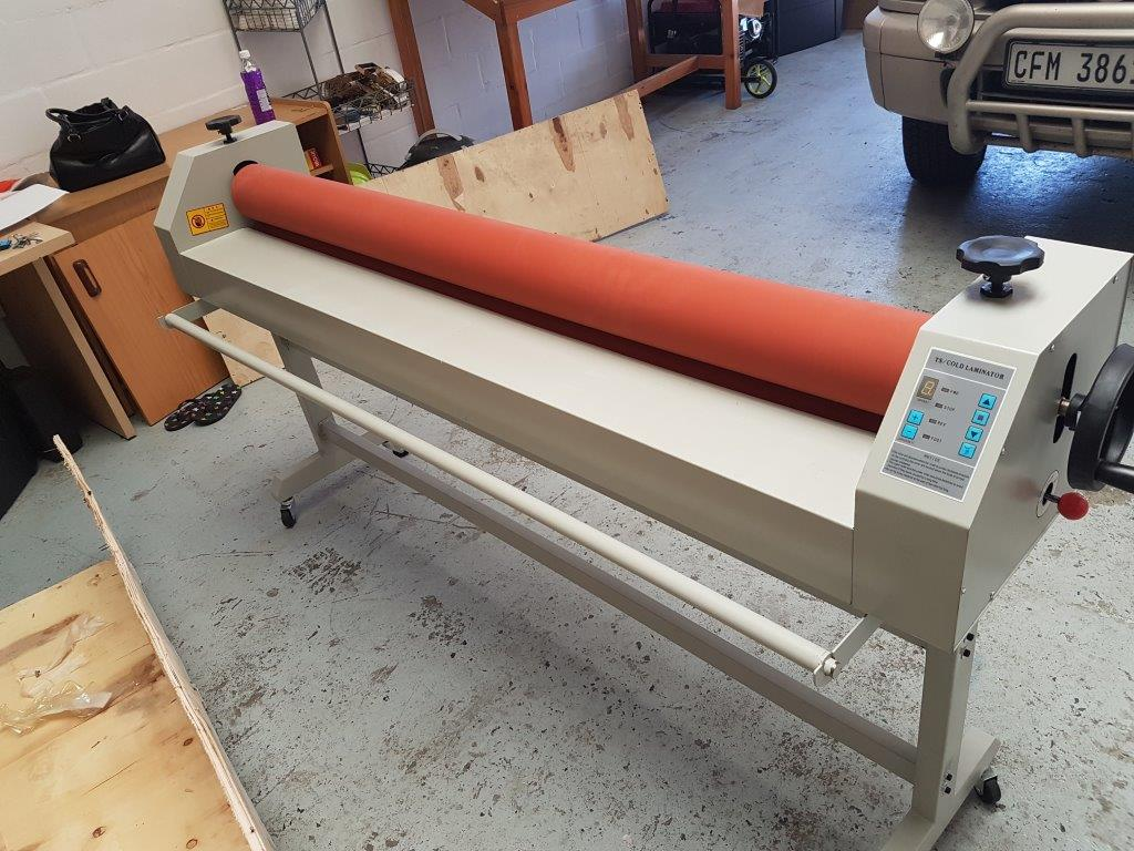 1600mm Electric Laminator Cold For sign making Vinyl application On Special Offer