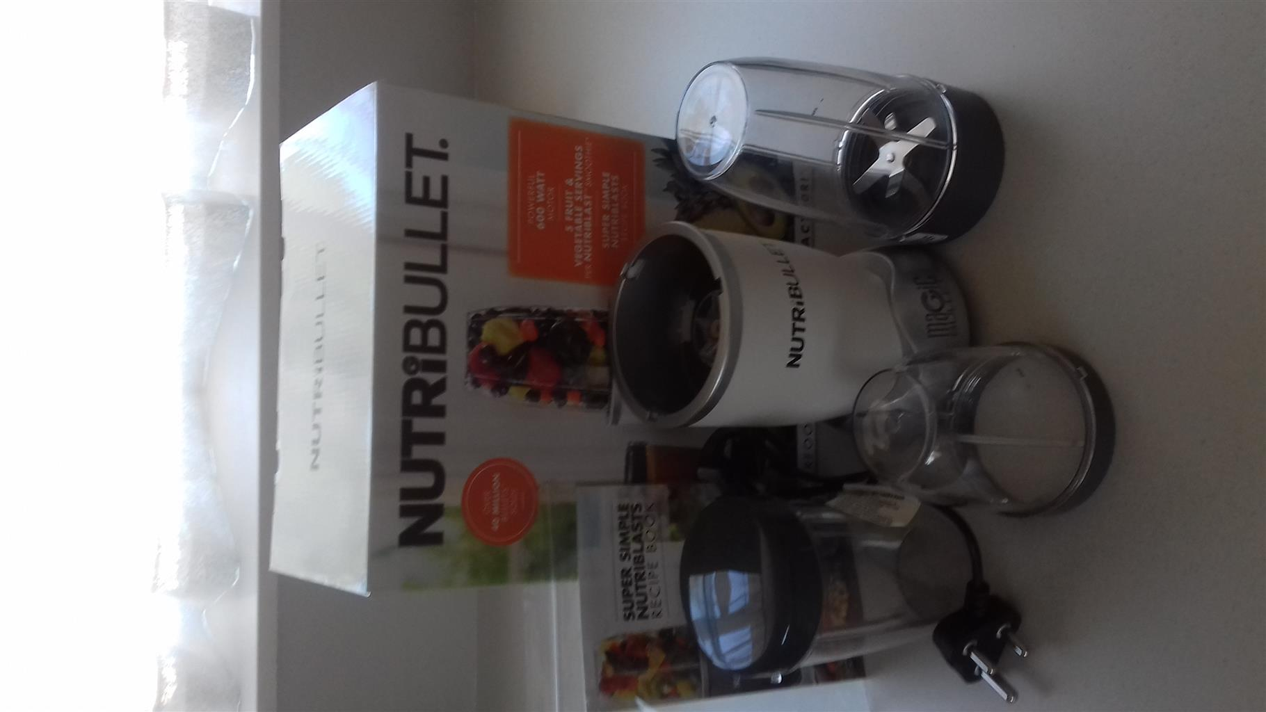Nutribullet High Speed Blender 600W White