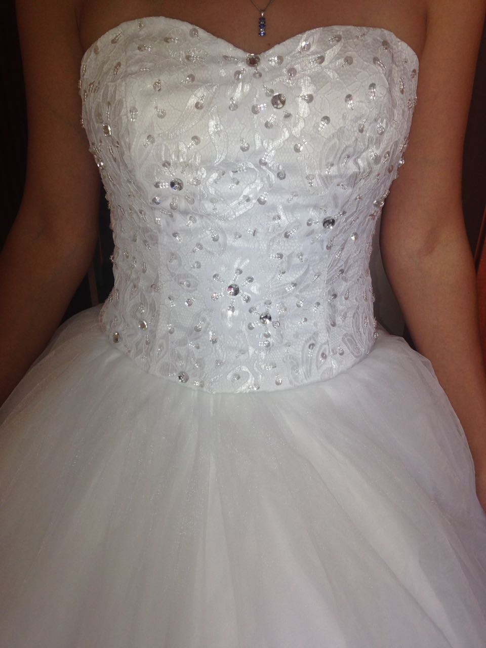 New Princess Wedding Dress - Never Worn