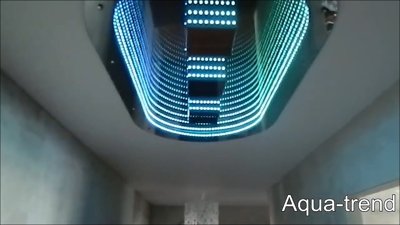 3D ceiling lights