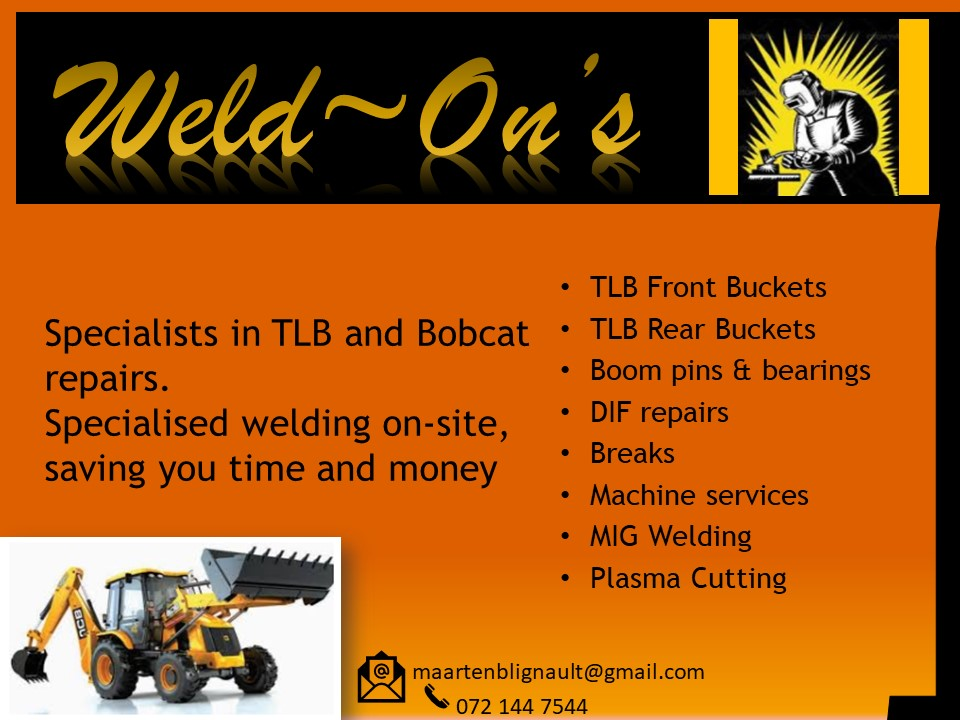 All types of welding.