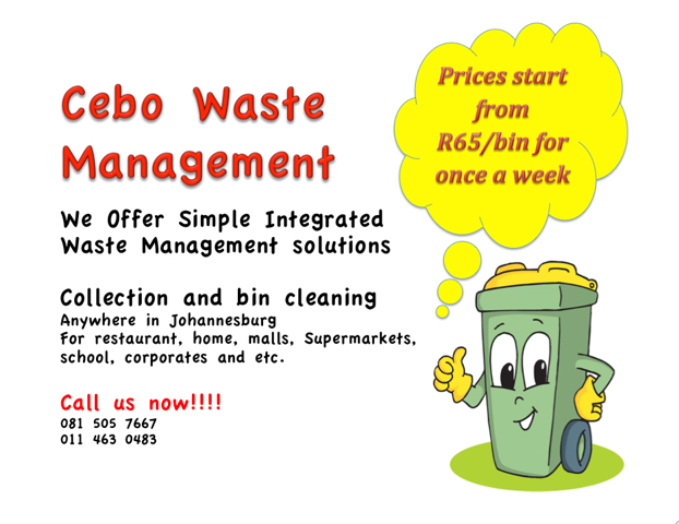 Cebo Waste Management Services