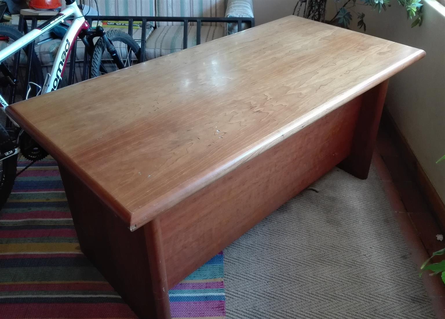 Desk (cherry? wood)