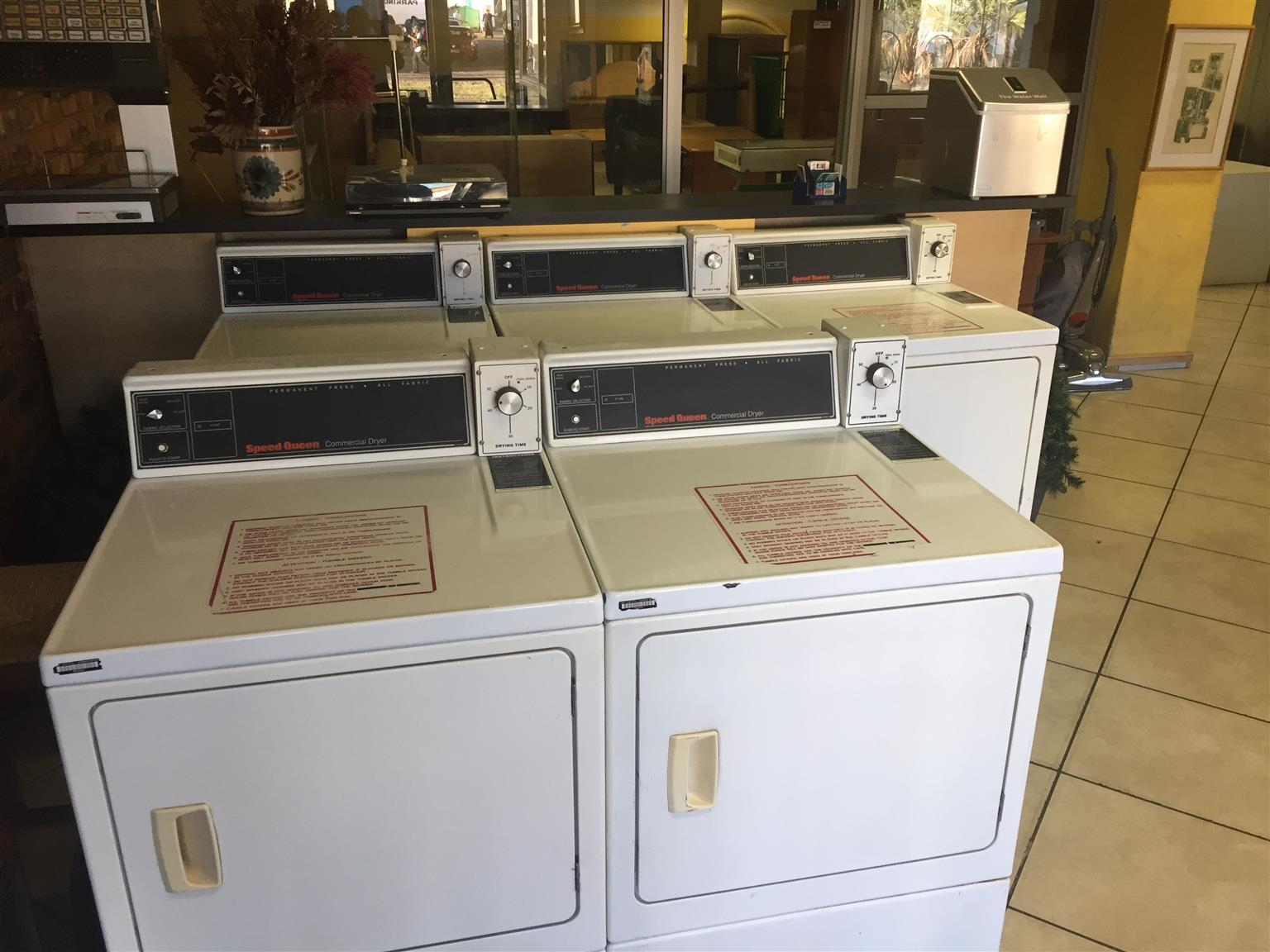 SpeedQueen Washers and Dryers