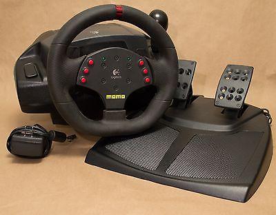 logitech momo racing wheel driver windows 7 64