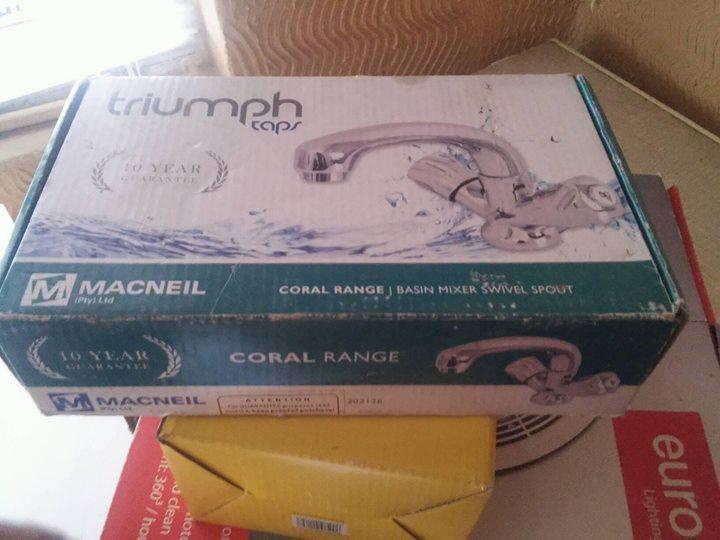Triumph tap set for sale