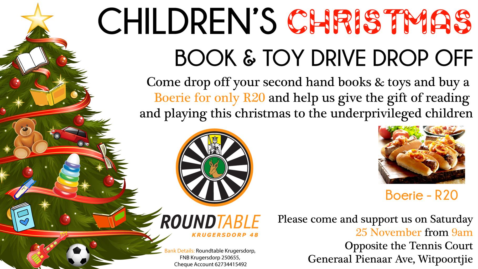 Children\'s Christmas Toy & Book Drive | Junk Mail