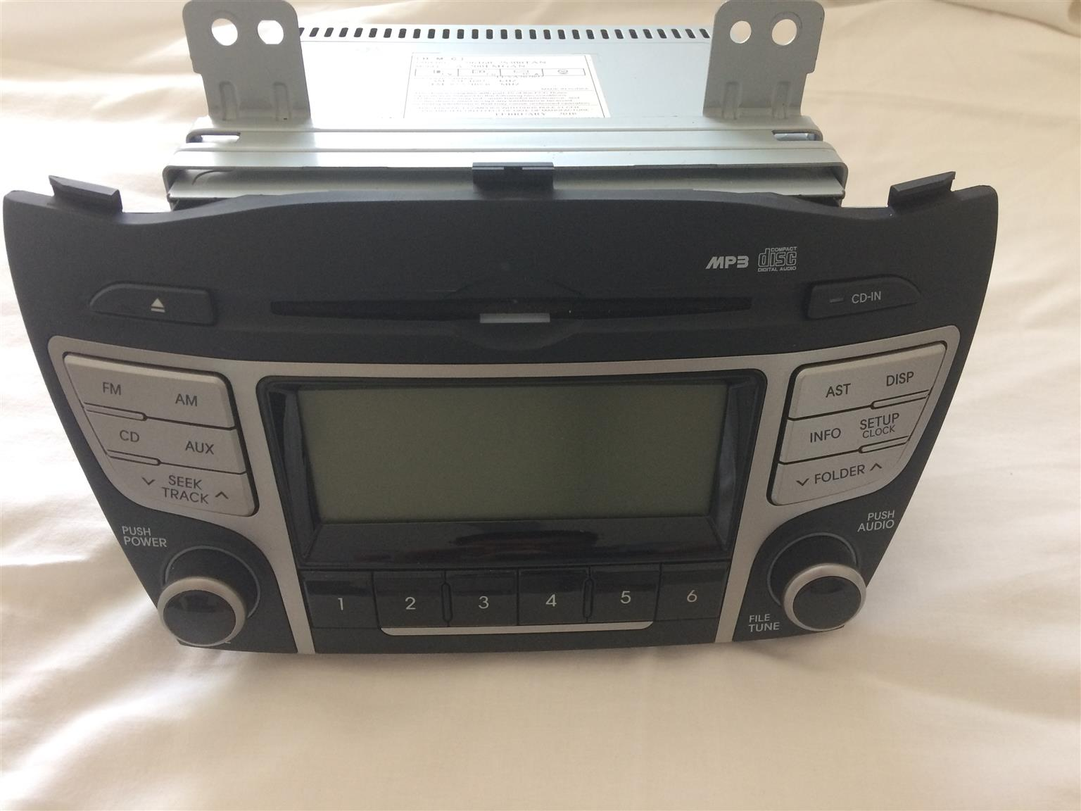 Car Audio And Entertainment Systems In Cape Town Junk Mail Wiring Stereo To Leisure Battery Hyundai Ix35 Bluetooth Radio Cd Mp3 Player