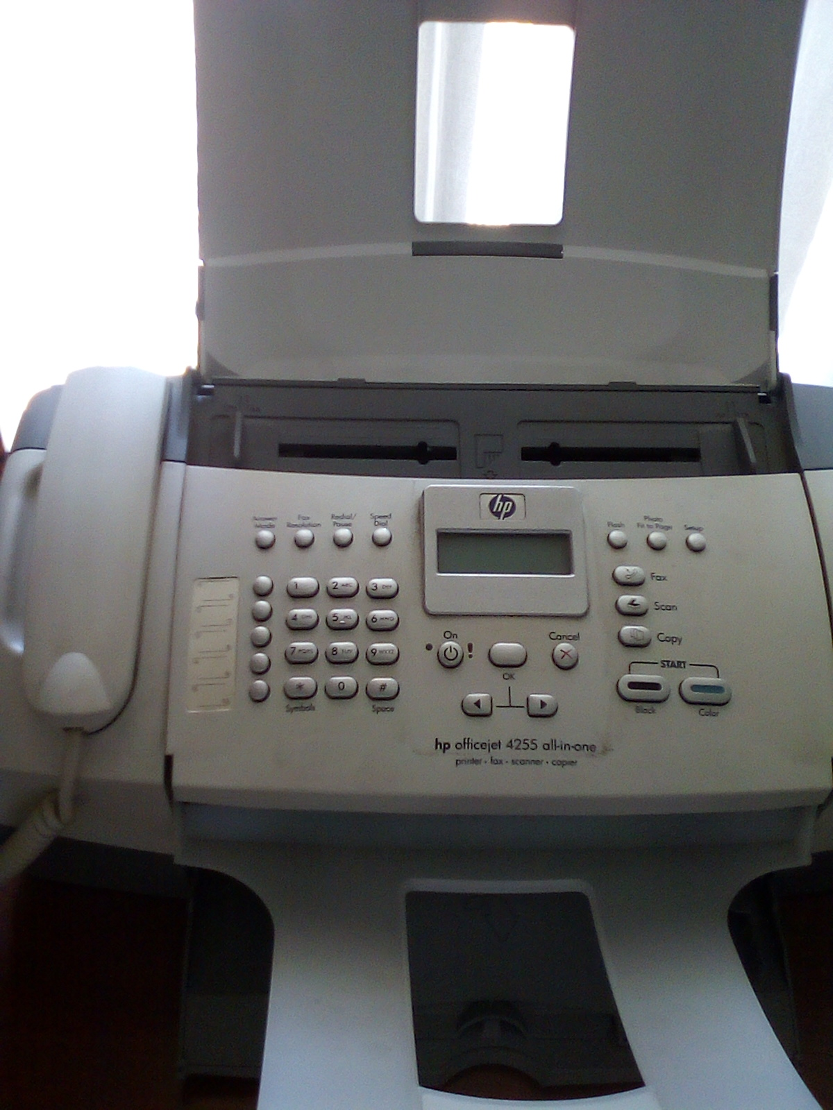 hp office jet all in one printer scanner fax and copier junk mail