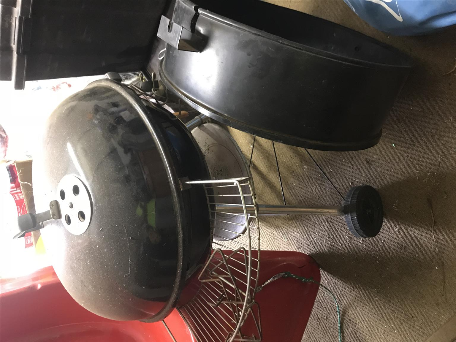 Weber braai 57cm with extenton piece
