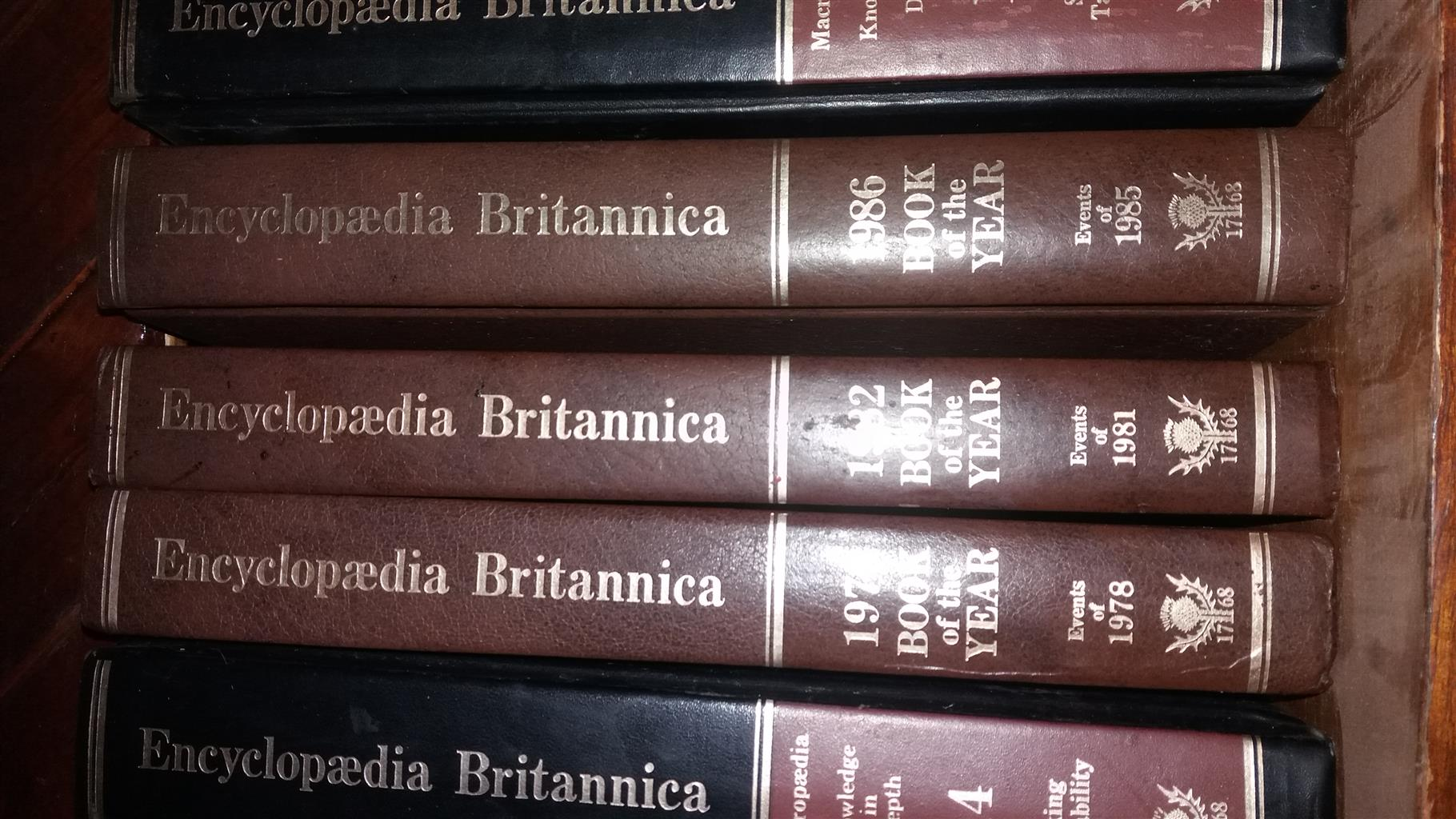 Britannica Encylopedia full set