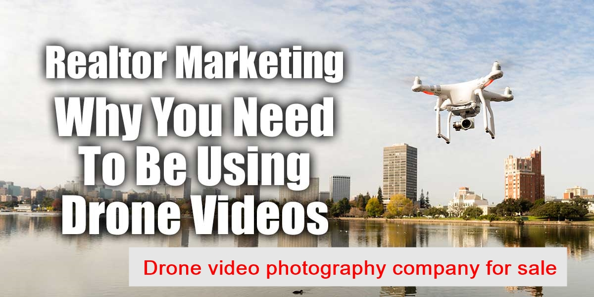 Drone marketing company for sale