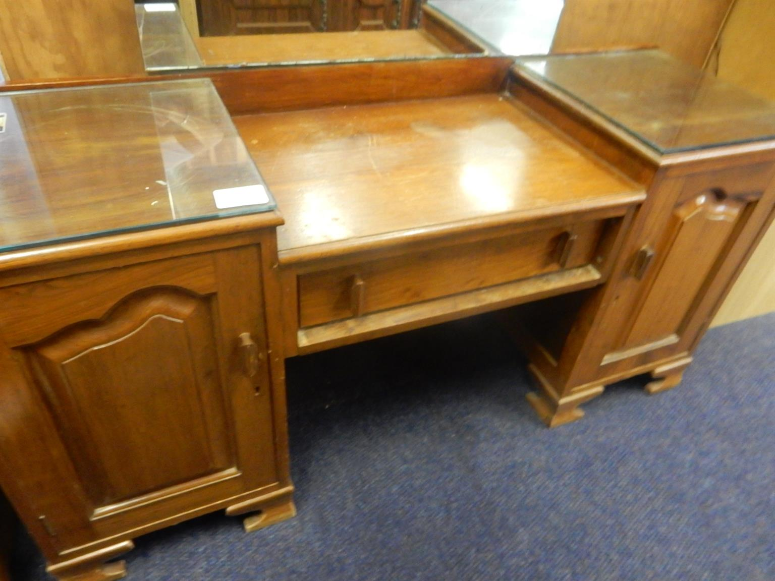 Wooden Dressing Table Brown