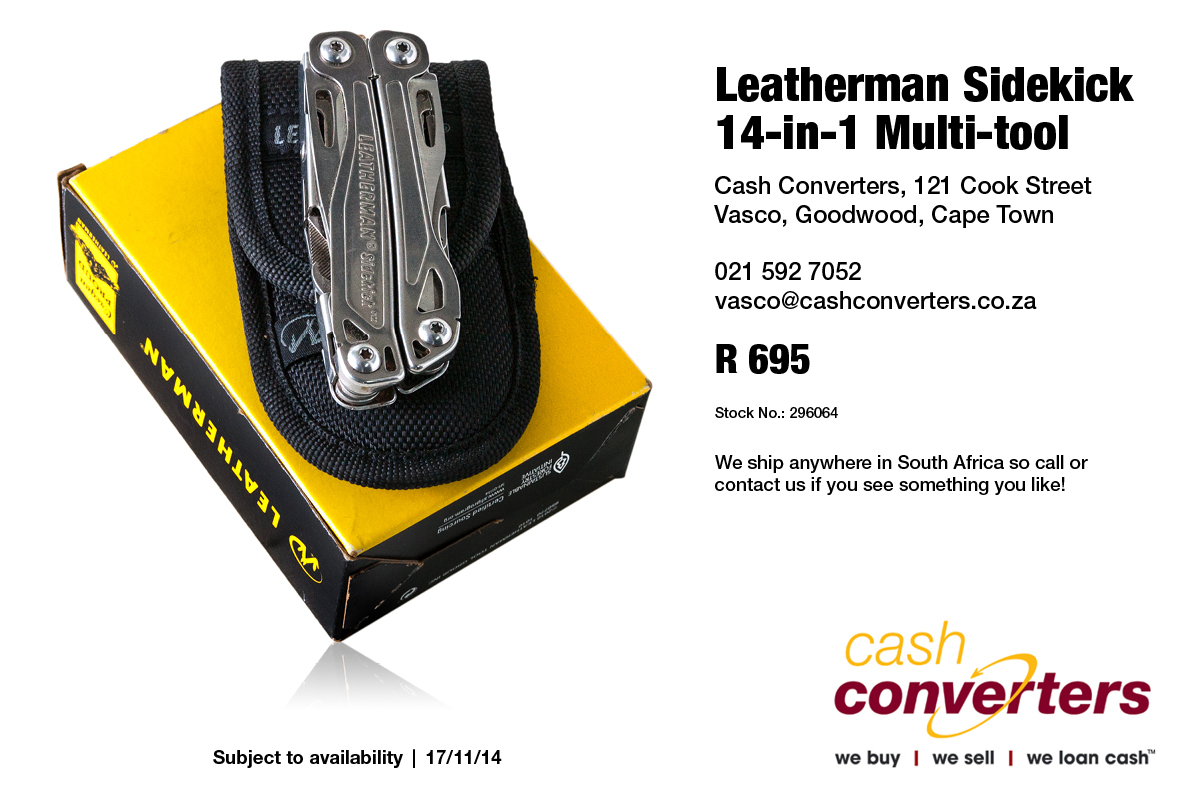 Leatherman Sidekick 14-in-1 Multi-tool