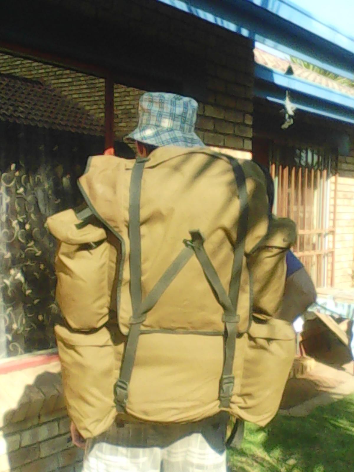 2 Hiking bags