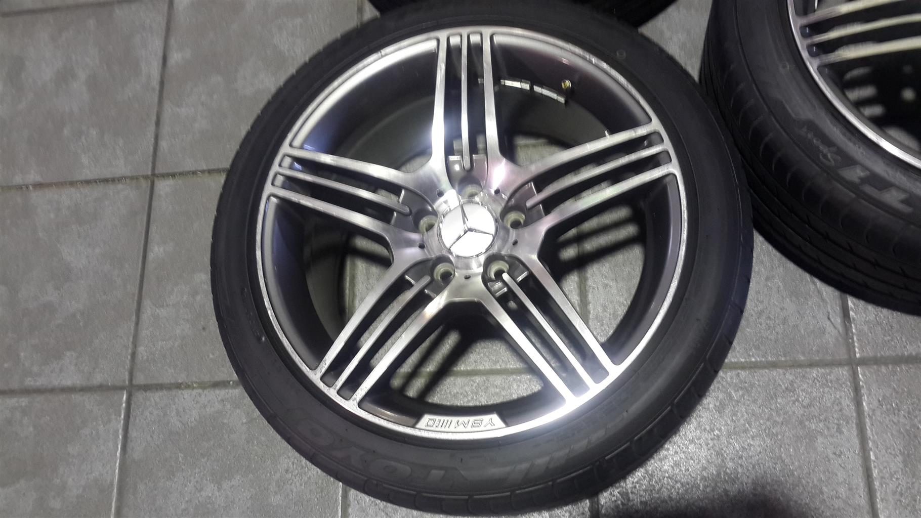 Mercedes-Benz Mag Rims And Tyres For Sale