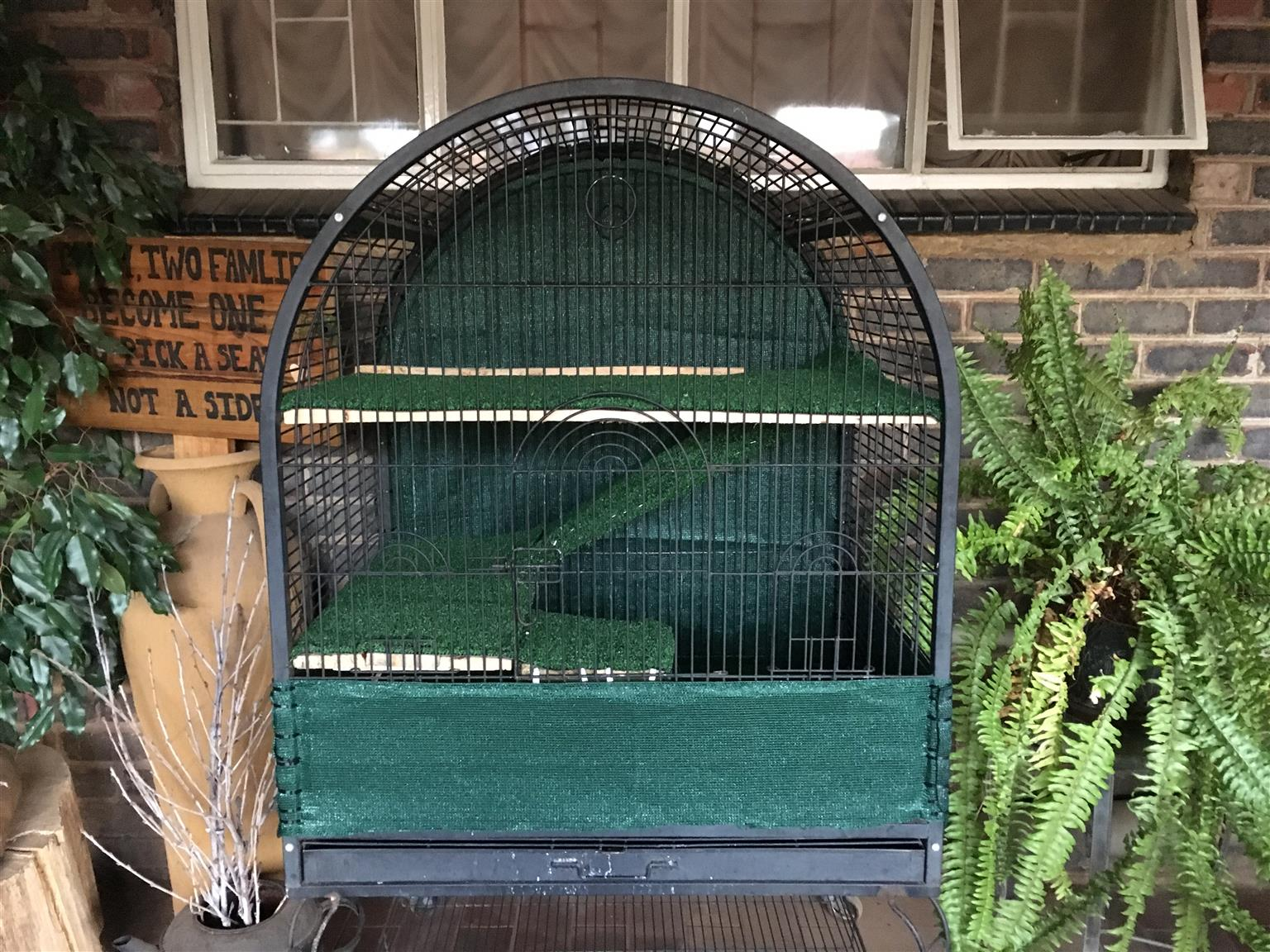 Big Cage with levels for pet rat.